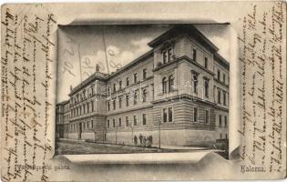 1904 Kalocsa, Törvényszéki palota. Stern Jakab kiadása (EK)