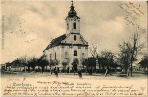 1901 Dombóvár, katolikus templom. Bruck Sándor kiadása