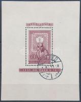 1951 Lila fogazott blokk (375.000)