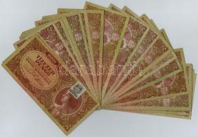 1945. 10.000P (30x) MNB bélyeggel T:III