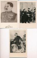 7 db MODERN Sztálint ábrázoló motívumlap / 7 modern Stalin motive cards