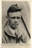 Captain Charles Lindbergh, American aviator