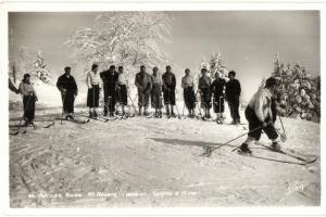 Aix-Les Bains, Mt. Revard, Sports dhiver / winter sport, skiing