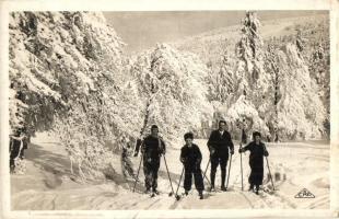 La Schlucht, les plaisirs du ski / winter sport, family skiing