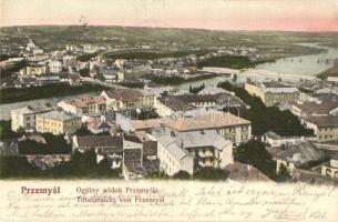 1904 Przemysl, Ogólny widok Przemysla / Totalansicht / general view, bridges (EK)
