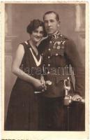 Bárány István csendőr / Hungarian gendarme. Berzéki photo (EK)