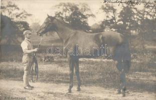 1901 Budapest, versenyló / horse race (EK)