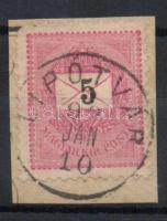1889 5kr LIPÓTVÁR
