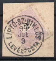 1898 2kr LIPTÓ-SZ-MIKLÓS LEVÉLPOSTA