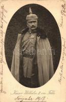 1917 Kaiser Wilhelm II im Felde / Wilhelm II, German Emperor (EK)