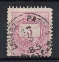 1881 5kr LOVÁSZ-PATONA VESZPR.M.
