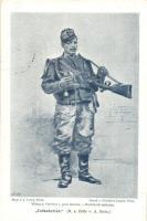 Infanterist / Austro-Hungarian K.u.K. military infantry s: A. Stein (EK)