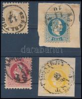1867 2kr, 5kr, 10kr, 15kr