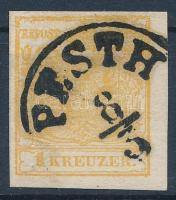 1850 1kr MP PESTH