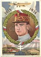 20. Vyrocie Samostatnosti Ceskoslovenskej Republiky 1918-1938 / 20th anniversary of the independence of the Czechoslovak Republic, Bratislava castle, Milan Rastislav Stefánik (EK)