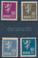 Norvégia 1926 Mi 123, 128, 129 (törött), 132 (** Mi EUR 442,-)