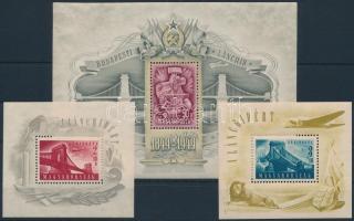 1948-1949 Lánchíd I-II-III blokkok (140.000)