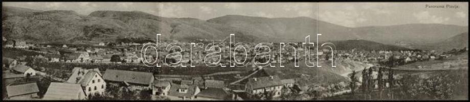 Pljevlja, Kamenitza; 3-tiled panoramacard (EK)
