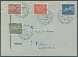 1960 Római olimpia sor FDC-n Mi 332-335