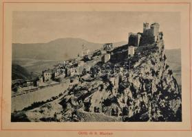cca 1900 San Marinoi köztársaság képes füzet 15p.21x14 cm