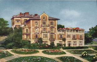 Abbazia, Hotel Pensione Wrus