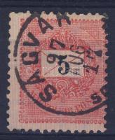 1889 5kr SÁRVÁR SO(MOGY M)