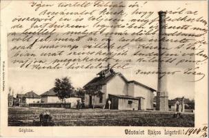 1904 Budapest XVII. Rákosliget, Gépház. Wollner Alajos kiadása (EK)