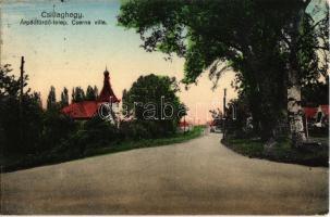 1942 Budapest III. Csillaghegy, Árpádfürdő-telep és Cserna villa (EK)