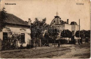 Budapest XVII. Rákoscsaba, Új-telep, villák (EK)