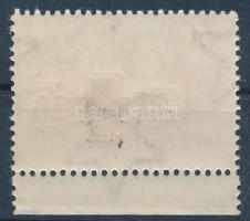 1957 Vöröskereszt 30f két felülnyomással: normál és vaknyomattal (60.000) / Mi 1483 with blind overprint