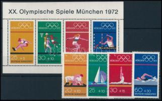 Olympics set + block, Olimpia sor + blokk