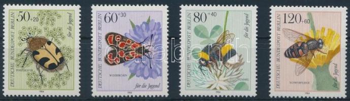 Beetles, insects set, Bogarak, rovarok sor