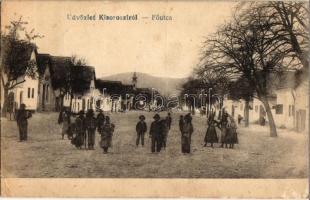Kisoroszi, Fő utca. Szücs József kiadása