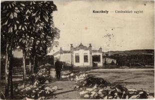 1922 Keszthely, Csolnakázó (Csónakázó) egylet. Mérei Ignác kiadása (EK)