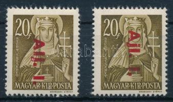 1946 Betűs Alj. I. tévnyomat (10.000)