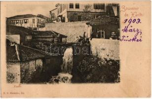 1903 Xanthi, waterfall. E.S. Blatscho (fl)