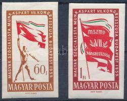 1959 MSZMP Kongresszus vágott sor (4.500) (törések)