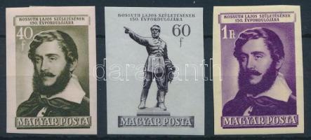 1952 Kossuth Lajos (II.) vágott sor (12.000)