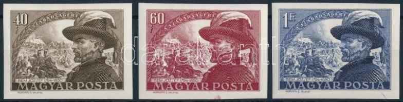 1950 Bem József (I.) sor ívszéli vágott sor (6.000)