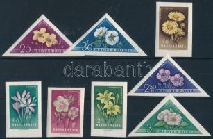 1958 Virág (III.) vágott sor (15.000)