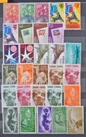 Spanyol és gyarmati összeállítás kb 255 db bélyeg és 2 blokk közepes berakóban / Spain and colonies lot ca. 255 stamps and 2 blocks in stockbook
