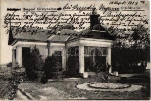 1913 Horgosi-Királyhalom, Horgos-Backi Vinogradi; Ormódy villa / villa (EK)