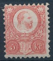 1871 Réznyomat 5kr (55.000) (gumitörések / gum creases)