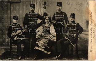 Ungar. Husaren-Kapelle Doppel-Adler. Peter Schneiders / Hungarian Hussar music band