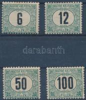 1905 Zöldportó A 6f, 12f, 50f, 100f (20.000)
