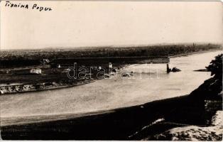 Tighina, Bender; Podul / destroyed railway bridge. photo
