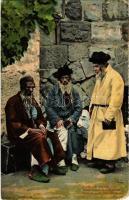 1925 Jews from Jerusalem. Judaica (EK)