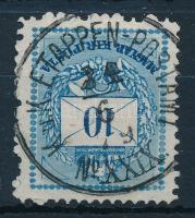 1879 Bosznia előfutár Színesszámú 10kr K.u.K. ETAPPEN-POSTAMT No XXIX (70.000)