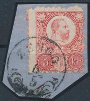 1871 Réznyomat 5kr képbe fogazva ZENGG