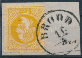 1867 2kr túlfestékezett nyomat BROOD